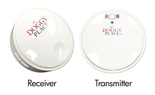 My Doggy Place - Dog Pet Children Toddler, Wireless Doorbell, No Batteries Required, Electronic Chime Bell, Potty Training, for Small, Medium, Large Dogs (One Transmitter - One Receiver) by My Doggy Place (Image #4)