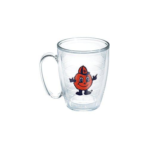 ersity Otto Emblem Individually Boxed Mug, 16 oz, Clear (Syracuse Dishwasher Safe Mug)