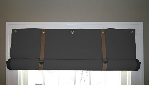Residential Acoustics Soundproof, Thermal, Blackout Curtains (Black and Tan, Large: 48' W x 60' L)