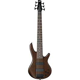Ibanez GSR 6 String Bass Guitar, Right, Walnut Flat (GSR206BWNF)