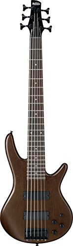 Ibanez GSR 6 String Bass Guitar, Right Handed, Walnut Flat (GSR206BWNF)
