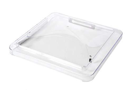 Fan-Tastic Vent RV Roof Vent Lid, Clear, Polycarbonate ()
