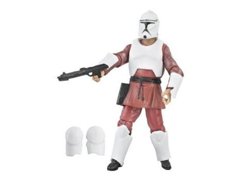 (Star Wars Saga 2008 30th Anniversary Wave 1 Action Figure Clone Trooper (Kamino Training))