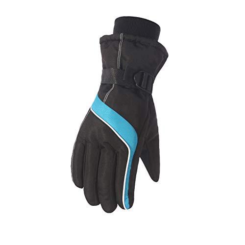 Équitation Femmes Écran Tactile Froid Gants Air Sports Amdxd Étanche Randonnée Bleu Plein Et Ski De PwqaxdO7