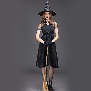 Mjia Cloth Falda de Mujer, Bruja de Halloween, Vestido de Cosplay ...