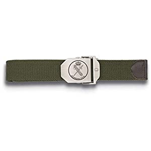 Tiendas LGP Albainox-Cinturòn Ajustable,130X3,9 cm. Verde Hebilla Metalica Guardia Civil 4