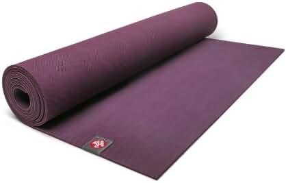 Manduka eKO Yoga and Pilates Yoga Mat, 5mm, Acai, 79