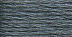 DMC 115 3-317 Pearl Cotton Thread, Pewter Grey