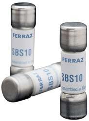 Mersen SBS Fast-Acting Ferrule Fuse 600VAC 13//32 Diameter x 1-3//8 Length 13//32 Diameter x 1-3//8 Length 100kA 7 Ampere