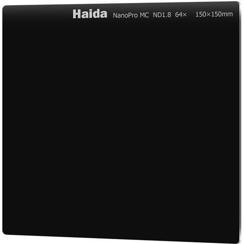 Haida NanoPro 150mm MC Neutral Density ND64 ND 1.8 Optical Glass Filter 150 6 Stop