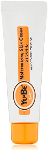 Yu-Be: Japan's secret for dry skin relief. Deep hydrating moisturizing cream for face, hand and body. Fast acting & non-greasy. No artificial colors or fragrances. Tube, 1 Fl Oz