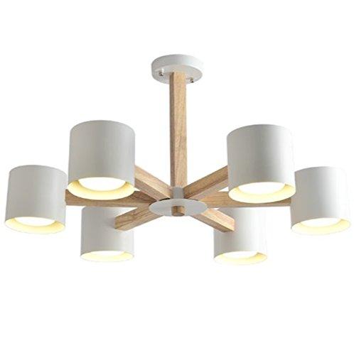 ZHUYANPENG Lámparas creativas del dormitorio de la ...