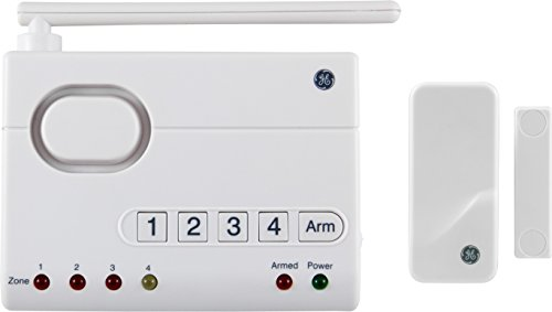 GE Choice Alert Wireless Alarm System Control Center Starter Kit, 45142