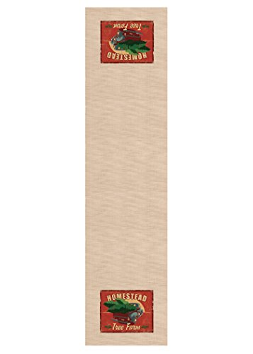 Heritage Lace Signs Of Christmas Homestead Table Runner, ...