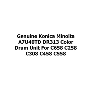 Genuine Konica Minolta A7U40TD DR313 Color for C658 C258 C308 C458 C558