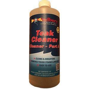 Sudbury 861Q Teak Cleaner, Part A-1 Quart, 32. Fluid_Ounces (Stock Teak)