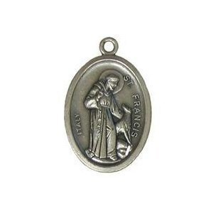 St francis medal st anthony medal saint francis of assisi saint st francis medal st anthony medal saint francis of assisi saint anthony of aloadofball Choice Image