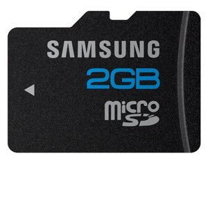 Samsung MB-MS2GA 2 GB microSD Flash Card by Samsung
