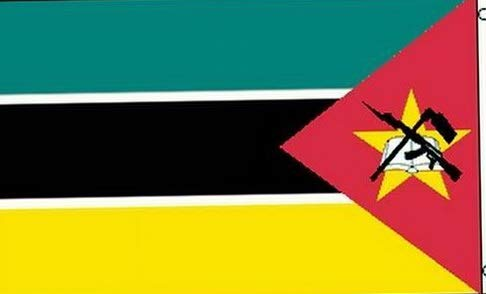 Hebel Flag of Mozambique 3x5 ft Banner Country Nation rica Rican Republic AK-47 | Model FLG - 1227
