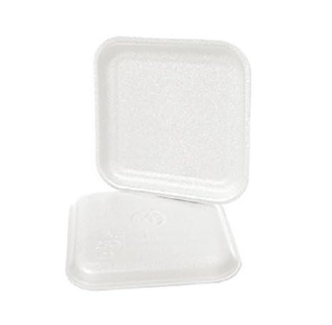 CKF 1SW, # 1S blanco espuma desechables bandejas de carne, Standart supermercado bandejas de carne pollo alimentos congelados, 1000 piezas): Amazon.es: ...