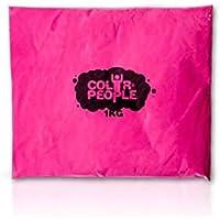 Color People Holi-färgpulver, 1 kg rosa