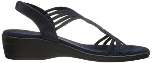 Easy Street Women's Natara Flat Sandal Navy cheap get authentic 2014 cheap price pre order online cheap online shop cheap sale pay with visa n1PcF