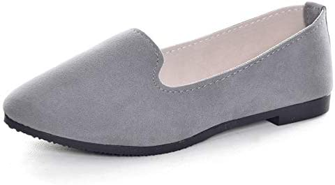 Hee grand Womens Ballet Flats Printed Slip On Round Toe Loafers Flat Shoes Women