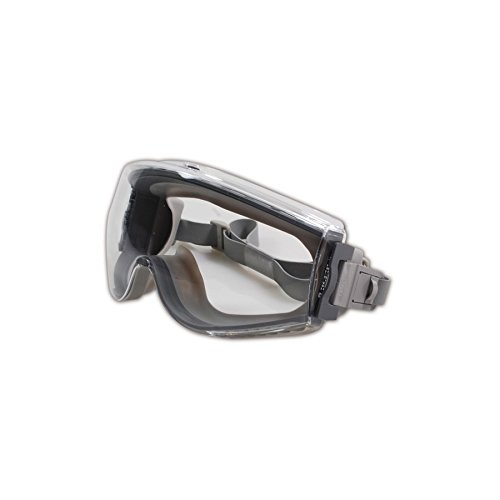 B0001YXFFM Uvex Stealth Safety Goggles with Uvextreme Anti-Fog Coating (S3960C) 31vwgHUc6gL