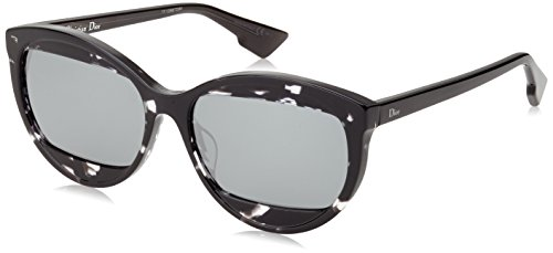 Gris para Fl de Mujer Dior DIORMANIA2 Havana Sol 57 Christian Grey AB8 Black Gafas T4 0zTFO