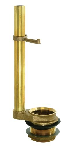Ez-Flo 40051 Flush Valve Brass Valve and Overflow Tube