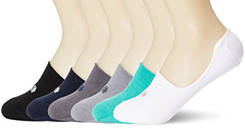 Turquoise Low Cut (Kold Feet Women's Athletic 6-Pack Casual No Show Socks Durable Non Slip Flat Boat Low Cut Liner Medium Black/Navy/Dk.grey/Lt.grey/Turquoise/White)