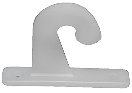 RV Designer A302 Mini Blind Hold-Down Hook, (Pack of 2) (Quantity 4)