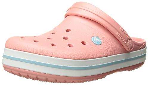 U melon 7h5 Crocs Crocband Rosa Unisex Zoccoli Blue ice Adulto ZY7q5