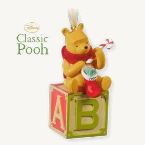 Baby's First Christmas- Winnie the Pooh Collection 2010 Hallmark Keepsake Ornament (First Christmas 2010 Ornament)