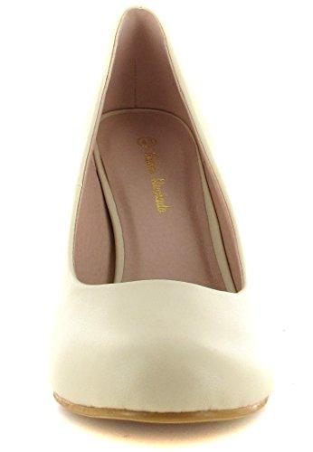 Andres Machado - Zapatos de vestir de Sintético para mujer Beige beige