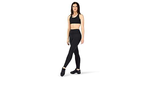 Natalie Active Womens Compression Crisscross Workout Leggings NA163