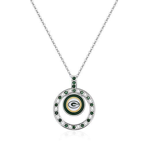 Green Bay Packers Pendant - Pro Specialties Group NFL Green Bay Packers Pendant Necklace