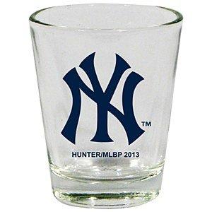 New Glass Yankees York Hunter - Hunter New York Yankees Clear Shot Glass