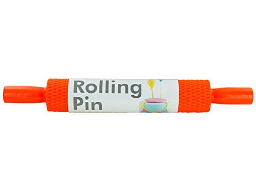 Kole Imports Textured Plastic Rolling Pin, , Not Applicable by Kole Imports