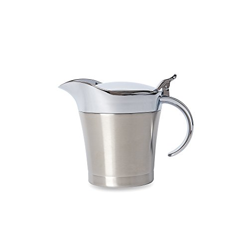 Stainless Steel Sauce Boat - Fox Run 6101 Gravy and Sauce Container, Stainless Steel