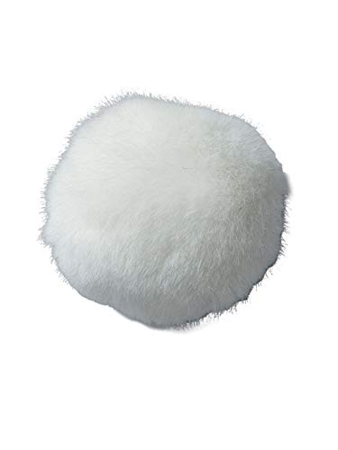Forum Novelties 51592 Unisex-Adults Bunny Tail, White, Standard,