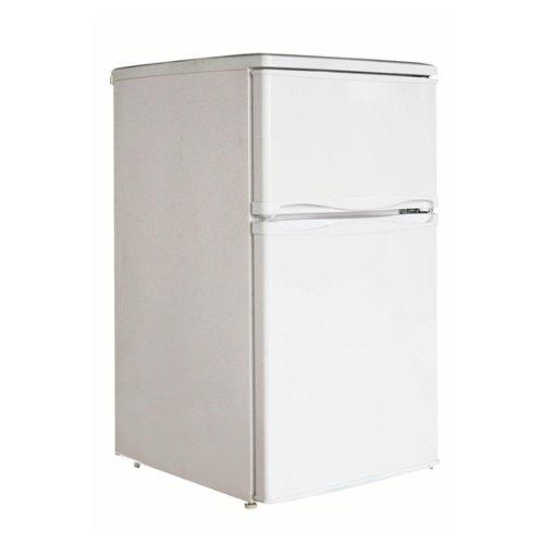 EUPA 2ドア冷凍冷蔵庫 直冷式 88L ノンフロンタイプ URR-88D B000X3JQNG