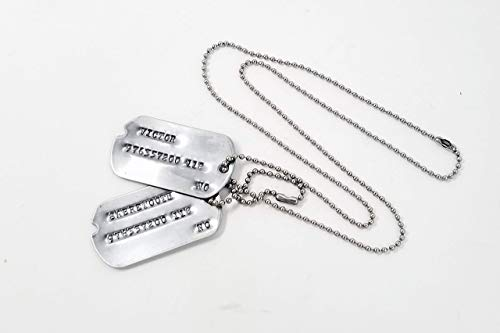 Victor Sabretooth WWII Military Dog Tags -