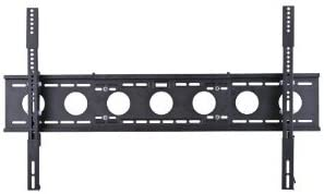 Mount World 1152F Extra Wide Low Profile Wall Mount for Samsung 60 63 64 65 70 75 LCD LED Plasma Support Three Studs and 42 Wide