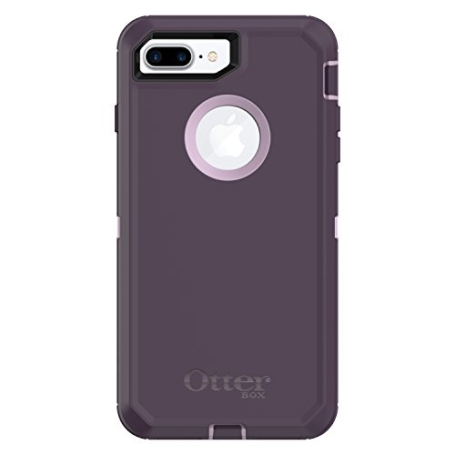 OtterBox DEFENDER SERIES Case for  iPhone 8 Plus & iPhone 7 Plus (ONLY) - Retail Packaging - PURPLE NEBULA (WINSOME ORCHID/NIGHT ()