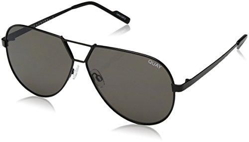 Quay Women's Supernova Sunglasses, Black/Smoke, One - Supernova Sunglasses