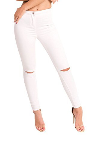 Elle Skinny Jeans Dchirs Ikrush Lilac Womens 8zwqnxT