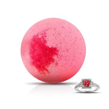 Princess Ring Bomb - XL Bath Bomb with Ring Smells like Love Spell (Bath Bombs Love)