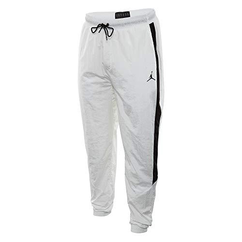 Jordan Sportswear Diamond Track Pants Mens White/Black (Best Pants For Jordans)