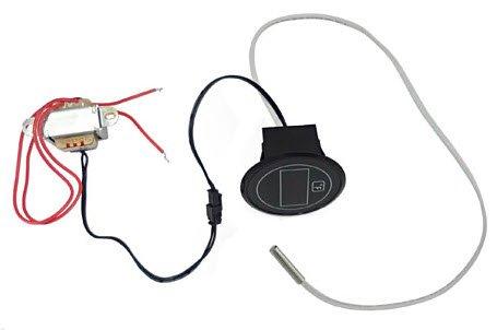 LED THERMOMETER 120V (RECTANGULAR HOLE)